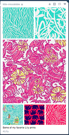 Social Media Queen Lilly Pulitzer