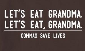 commas-save-lives