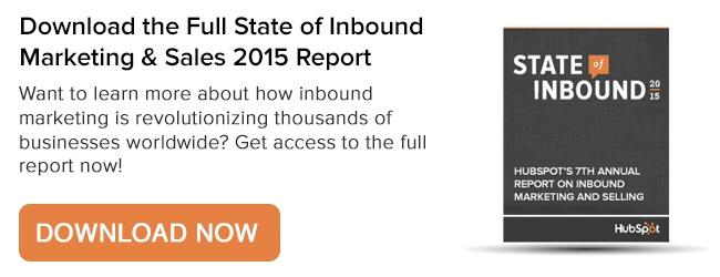 White Space Marketing Group State of Inbound 2015