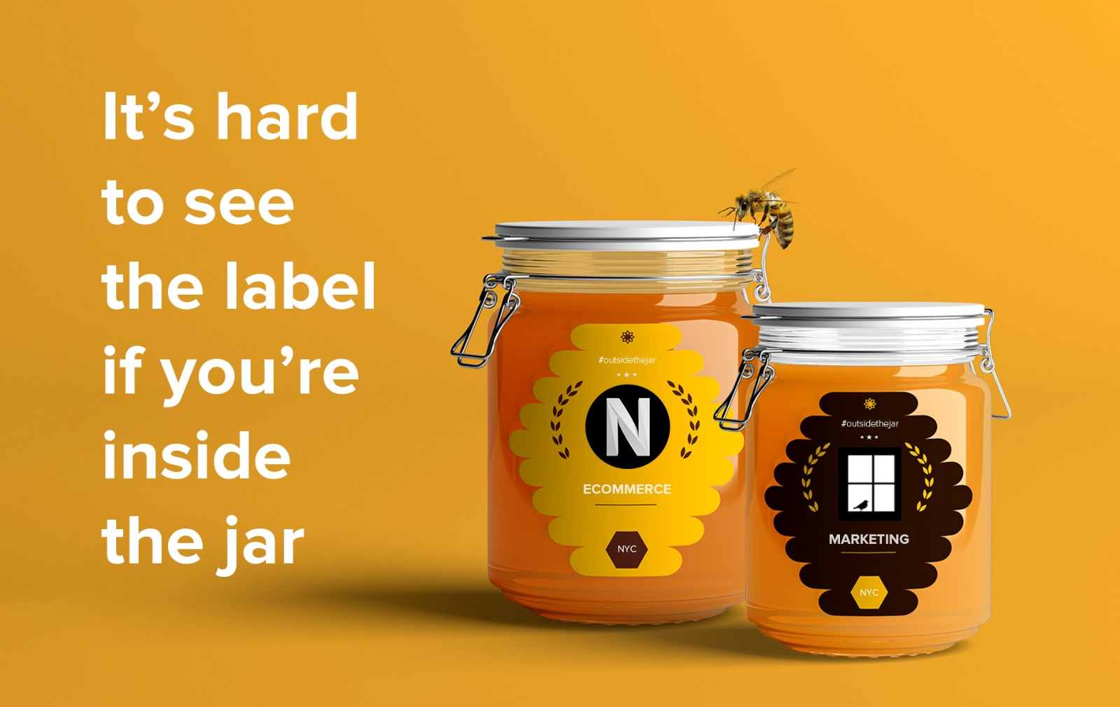 It's Hard to See the Label When You're Inside the Jar - Featured Image