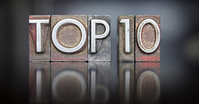 Our Top 10 Blogs From 2018 - Featured Image
